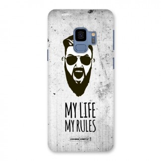 My Life My Rules Back Case for Galaxy S9