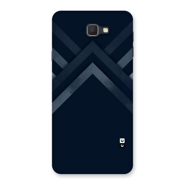 Navy Blue Arrow Back Case for Samsung Galaxy J7 Prime