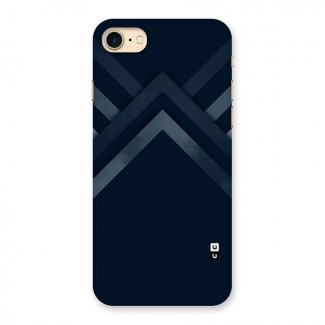 Navy Blue Arrow Back Case for iPhone 7