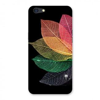 Net Leaf Color Design Back Case for Oppo A71