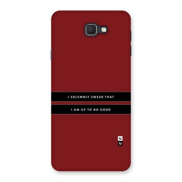 No Good Swear Back Case for Samsung Galaxy J7 Prime