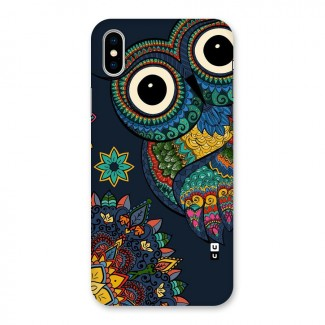 Owl Eyes Back Case for iPhone X