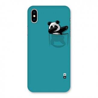 Panda Dabbing Away Back Case for iPhone X