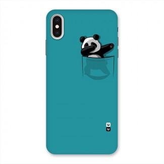 Panda Dabbing Away Back Case for iPhone XS Max