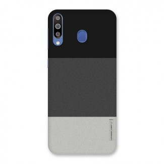 Pastel Black and Grey Back Case for Galaxy M30