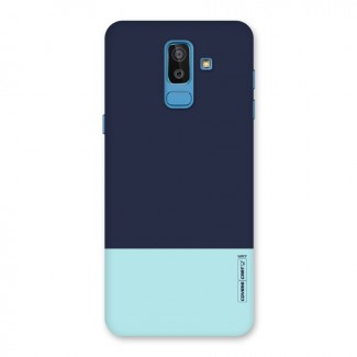 Pastel Blues Back Case for Galaxy J8