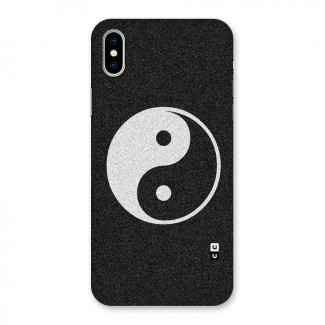 Peace Disorted Back Case for iPhone X