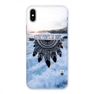 Pieces Of Hope Back Case for iPhone X