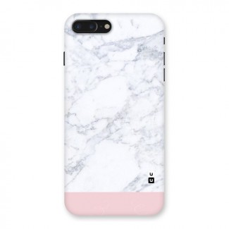 Pink White Merge Marble Back Case for iPhone 7 Plus