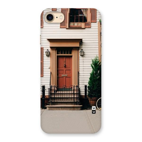 Pretty Orange Door Back Case for iPhone 7