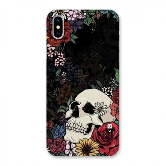 Pretty Skull Back Case for iPhone X