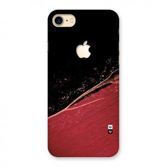 Red Flow Drops Back Case for iPhone 7 Apple Cut