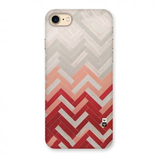 Reds & Greys Back Case for iPhone 7