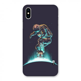 Rolling Spaceman Back Case for iPhone X