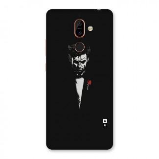 Rose Man Back Case for Nokia 7 Plus