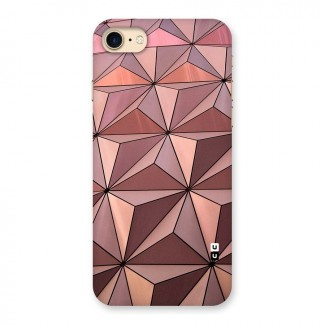 Rosegold Abstract Shapes Back Case for iPhone 7
