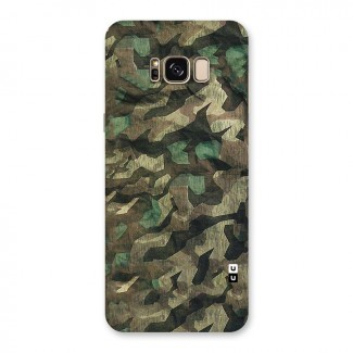 Rugged Army Back Case for Galaxy S8 Plus