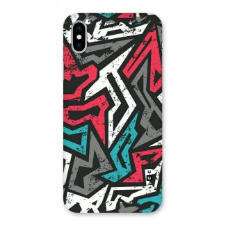 Rugged Strike Abstract Back Case for iPhone X
