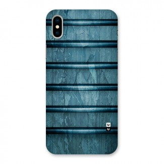 Rustic Blue Shelf Back Case for iPhone X