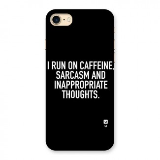 Sarcasm And Caffeine Back Case for iPhone 7