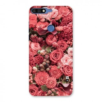 Shades Of Peach Back Case for Honor 7C
