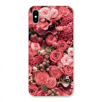 Shades Of Peach Back Case for iPhone X