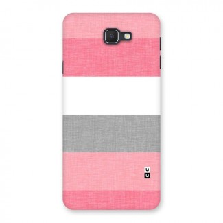 Shades Pink Stripes Back Case for Samsung Galaxy J7 Prime