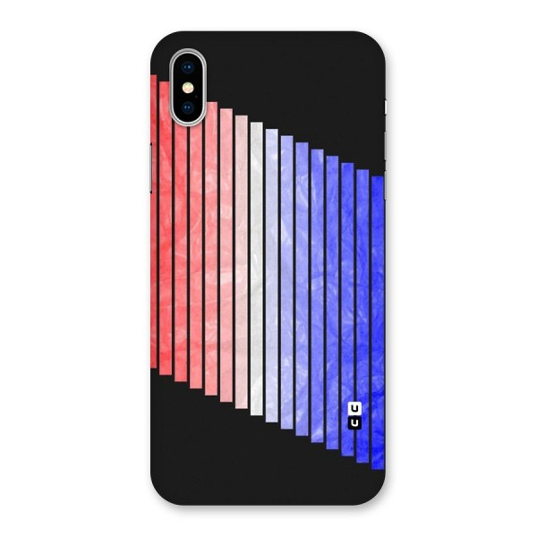 Simple Bars Back Case for iPhone X