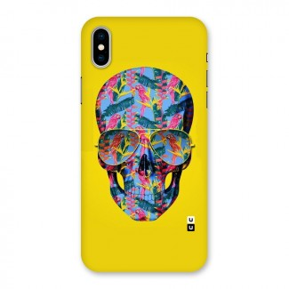 Skull Swag Back Case for iPhone X