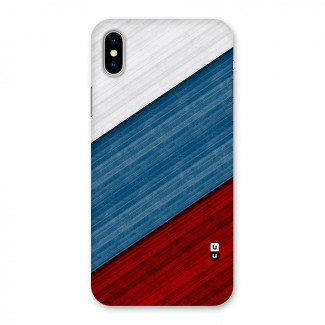 Slant Beautiful Stripe Back Case for iPhone X