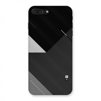 Slant Grey Back Case for iPhone 7 Plus