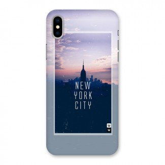 Sleepless City Back Case for iPhone X