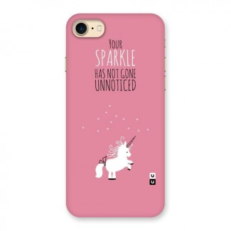 Sparkle Not Unnoticed Back Case for iPhone 7