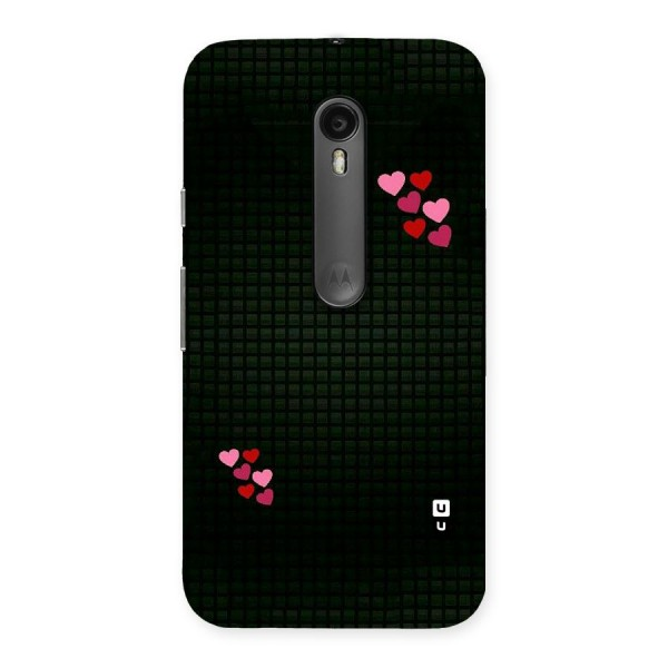 Square and Hearts Back Case for Moto G3