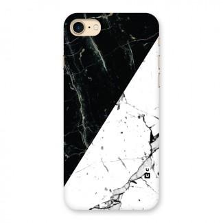Stylish Diagonal Marble Back Case for iPhone 7