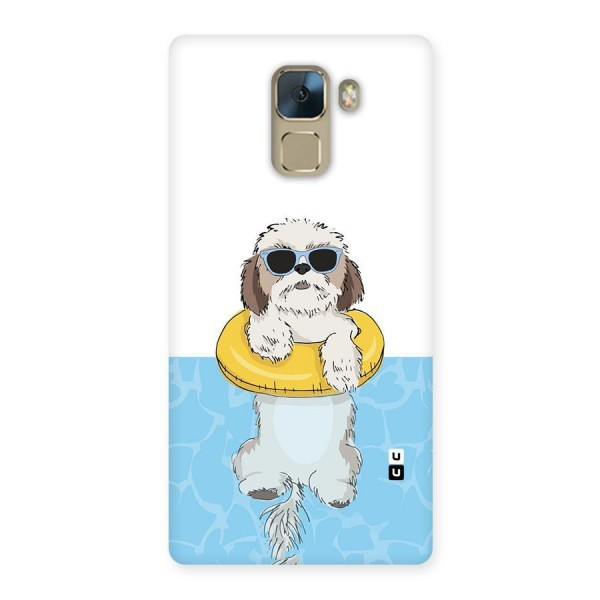 Swimming Doggo Back Case for Huawei Honor 7