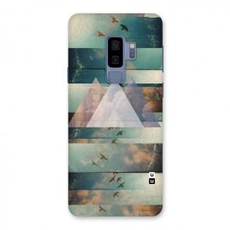 Three Triangles Back Case for Galaxy S9 Plus