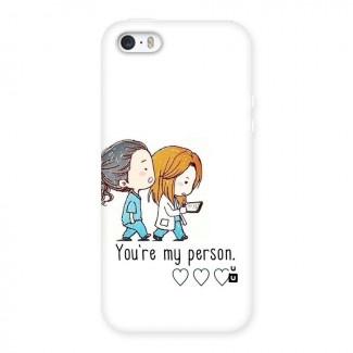 Two Friends In Coat Back Case for iPhone 5 5S