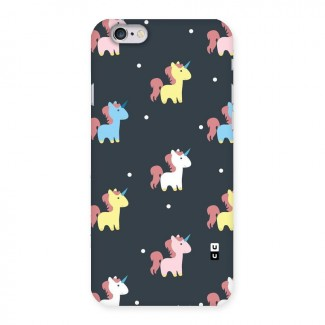 Unicorn Pattern Back Case for iPhone 6 6S