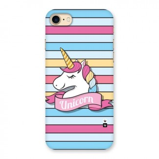 Unicorn Stripes Back Case for iPhone 7