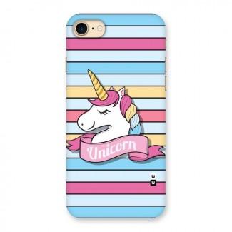 Unicorn Stripes Back Case for iPhone 7