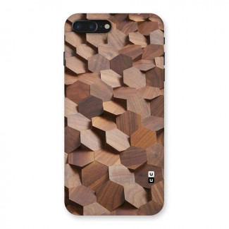 Uplifted Wood Hexagons Back Case for iPhone 7 Plus