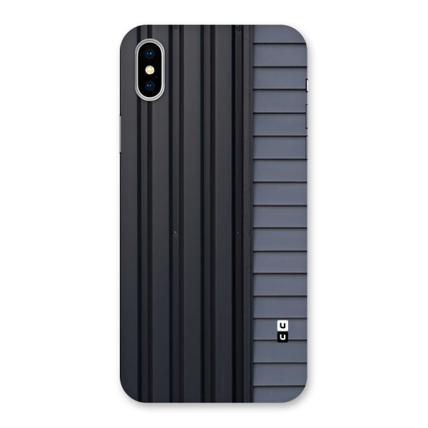 Vertical Horizontal Back Case for iPhone X