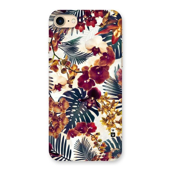 Vintage Rustic Flowers Back Case for iPhone 7