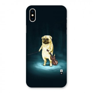 Violin Master Back Case for iPhone X