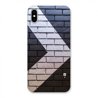 Wall Arrow Design Back Case for iPhone X