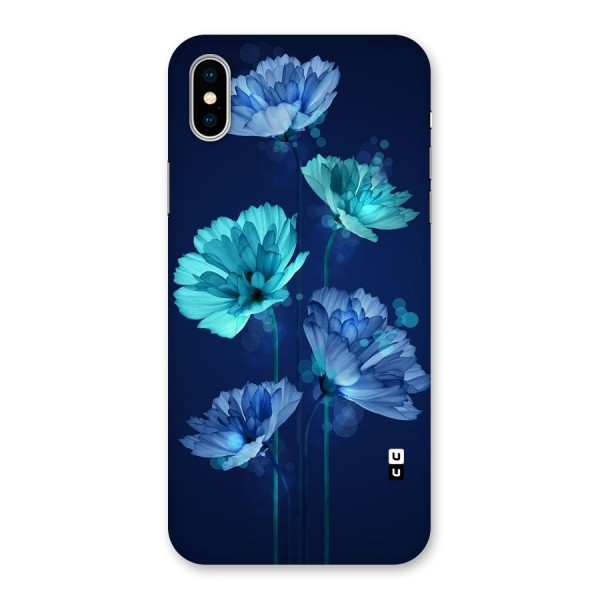 Water Flowers Back Case for iPhone X
