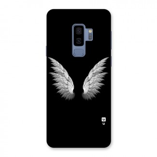White Wings Back Case for Galaxy S9 Plus