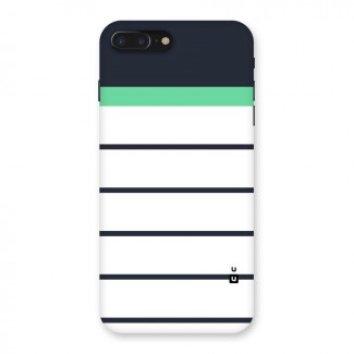 White and Simple Stripes Back Case for iPhone 7 Plus