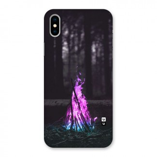 Wild Fire Back Case for iPhone X